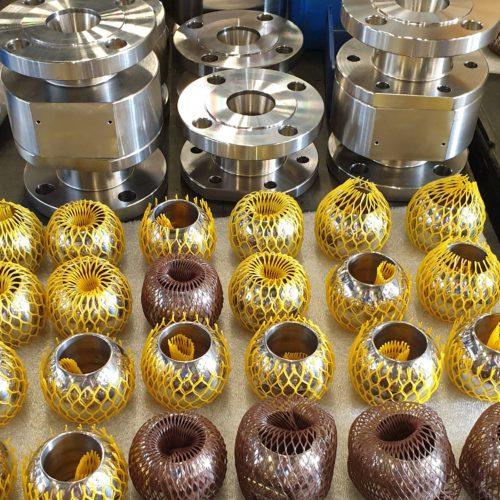 Производство кранов шаровых Ду 50 Ру 16 ст. Монель (Monel 400)