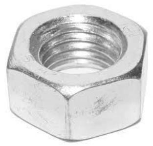 Гайка АМ16-6Н сталь 09Г2С ГОСТ 9064-75